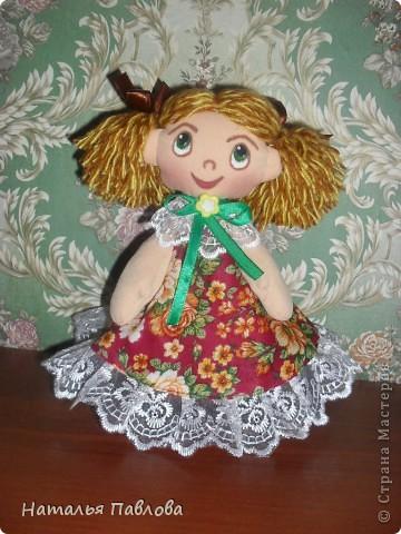 Пополнила семейку кукол по МК ...Наташи... приближаются ярмарки-продажи.... фото 3