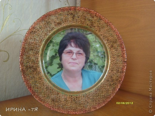 Тарелочку делала по МК Diva-di фото 1