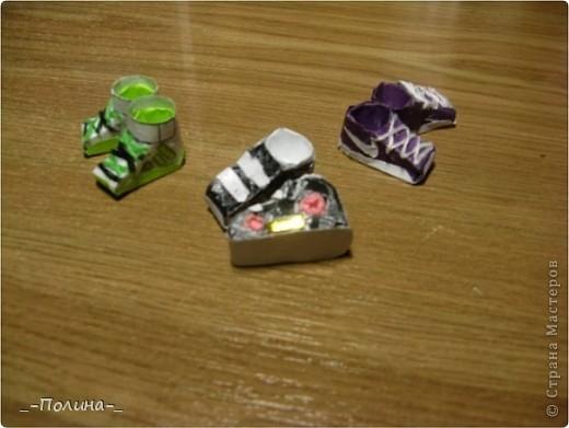 Бумажные ботиночки. фото 11