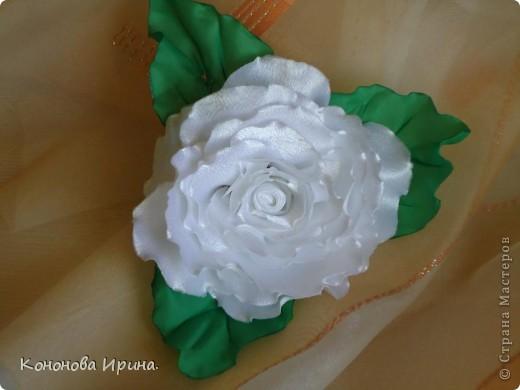 Что-то меня затянуло на изготовление резинок для волос, эти цветочки наверно именно для этого.  фото 1