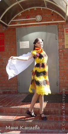 """платье """"пчёлка"""""""