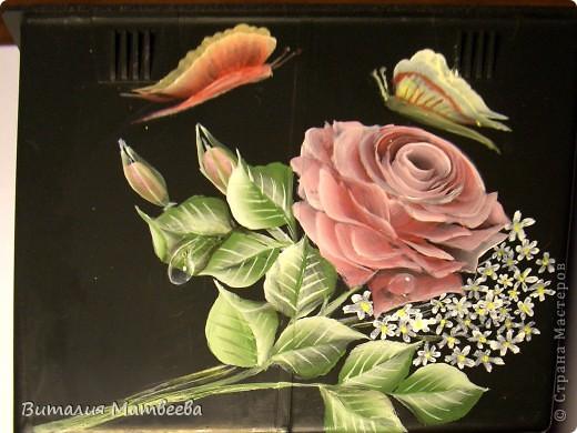 Здравствуйте жители СМ! Хочу показать вам вторую попытку написать розу по МК Татьяны Королевой! Спасибо всем кто ко мне заглянул! Очень рада всех видеть!
