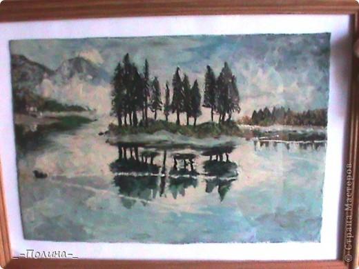 Утро на озере. фото 1