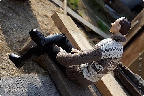 Всем доброго времени суток! Представляю свою новую куклу:) фото 11