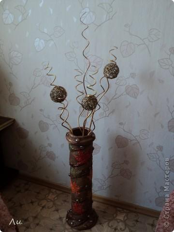 Ветки в напольная ваза своими руками