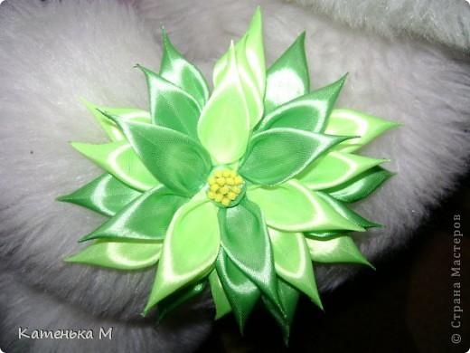 Вчера  смастерила такой цветочек. фото 1
