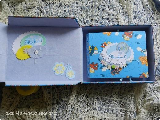 Здравствуйте!!!Я сегодня коротенько))))Сделала коробку для альбомчика и сегодня уже подарю!!!!!! фото 2