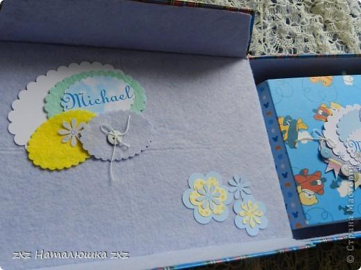 Здравствуйте!!!Я сегодня коротенько))))Сделала коробку для альбомчика и сегодня уже подарю!!!!!! фото 3