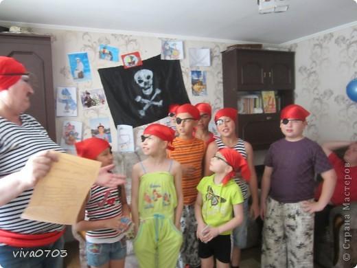 У нас была пиратская вечеринка. фото 1
