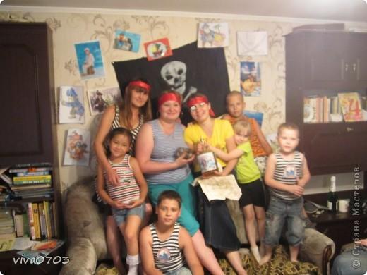 У нас была пиратская вечеринка. фото 7