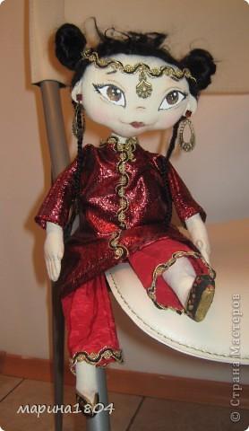 Здравствуйте, дорогие соседи! ....и вдруг захотелось экзотики... Задумывалась как китайская принцесса, не знаю только похожа на китайскую или нет :)) фото 4