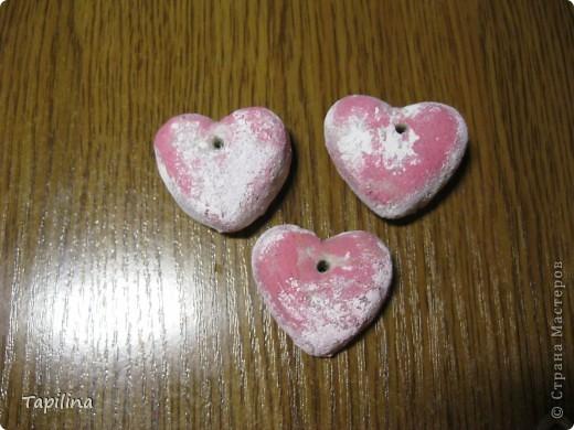 маленькие сувенирчики, приятные подарочки или просто милые ароматические подвески.  запах - мелисса, зверобой, лаванда. окрашены акрилом  фото 4