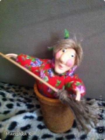 Вот такая получилась у меня сказочная Бабулечка-Ягулечка... фото 1
