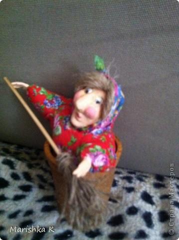 Вот такая получилась у меня сказочная Бабулечка-Ягулечка... фото 4