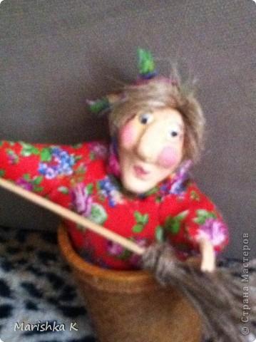 Вот такая получилась у меня сказочная Бабулечка-Ягулечка... фото 5