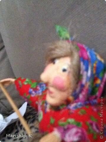 Вот такая получилась у меня сказочная Бабулечка-Ягулечка... фото 6