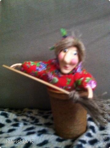 Вот такая получилась у меня сказочная Бабулечка-Ягулечка... фото 7
