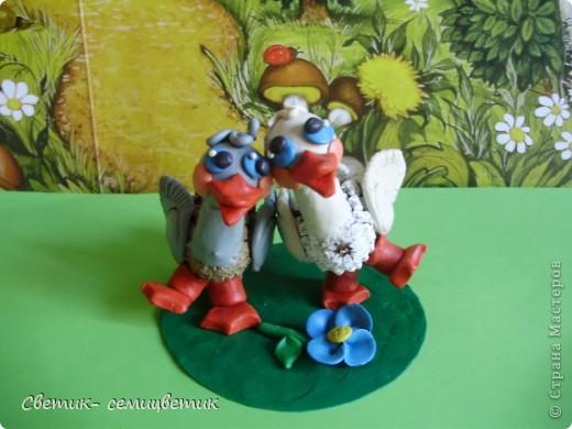 Жили у бабуси два веселых гуся. фото 4