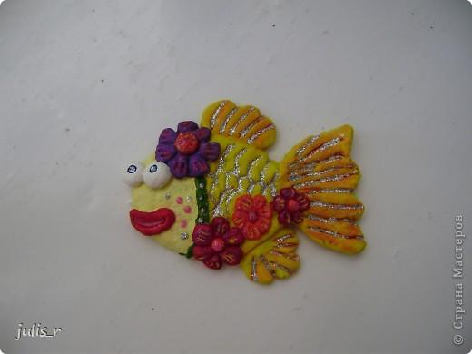 Рыбка золотая фото 2
