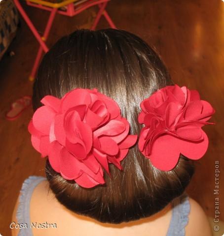 Заколка для волос а-ля Sofist-o-twist вариант Мальвина, закрученная в полъоборота. фото 5