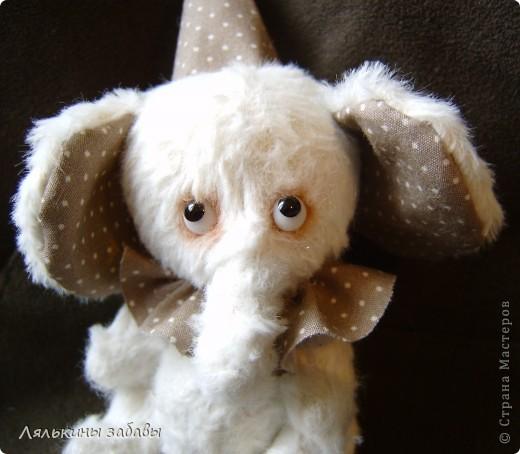 Растерянный малыш. ростик 10 см. 6 шплинтов,вискоза для мишек.американский хлопок. Может менять выражение на мордочке в зависимости от расположения глазок. фото 10