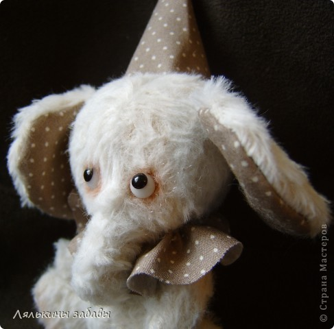 Растерянный малыш. ростик 10 см. 6 шплинтов,вискоза для мишек.американский хлопок. Может менять выражение на мордочке в зависимости от расположения глазок. фото 9