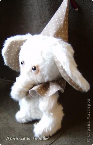 Растерянный малыш. ростик 10 см. 6 шплинтов,вискоза для мишек.американский хлопок. Может менять выражение на мордочке в зависимости от расположения глазок. фото 7