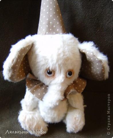 Растерянный малыш. ростик 10 см. 6 шплинтов,вискоза для мишек.американский хлопок. Может менять выражение на мордочке в зависимости от расположения глазок. фото 6