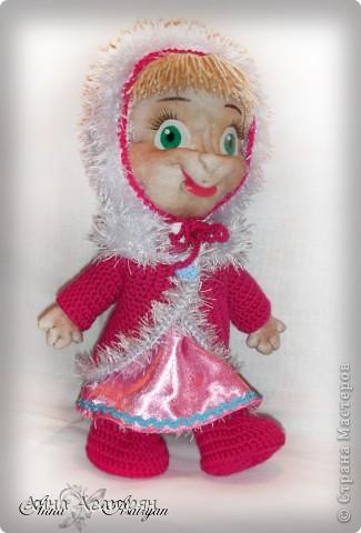 Вот и родилась еще одна Маша, сделала на заказ. Рост куклы 30см. фото 5