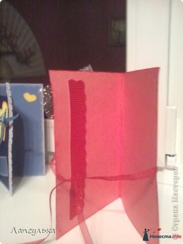 Всем спасибо что заглянули в гости. С недавнего времени стала увлекаться такими вещами как открытка. Насмотрелась на здешних умельцев и решила попробовать сама))) очень нравится сей процесс, вот спешу с вами поделиться своими достижениями! (сразу извиняюсь за качество фото!) Вот моя первая открытка, на день рождение сестры: фото 8