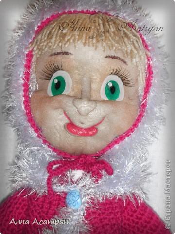 Вот и родилась еще одна Маша, сделала на заказ. Рост куклы 30см. фото 6