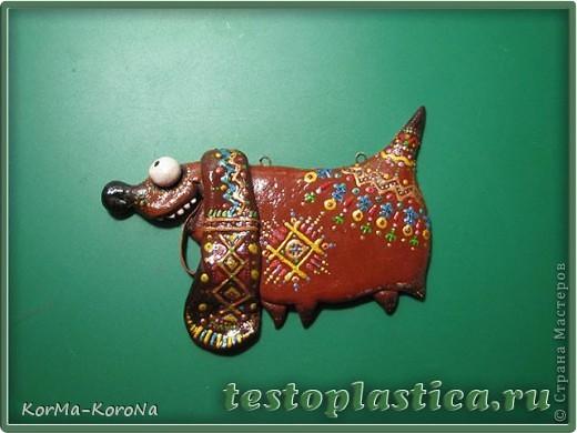 На днях сделала вот такую Африканскую Таксу! Впрочем, африканского в ней только роспись, так что вы можете стилизовать собакена на свой вкус. Поехали! фото 9