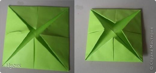 Не так давно я вела кружок оригами в загородном лагере. И на презентацию кружка всегда рассказывала эту сказку. Она тоже очень давняя. Побродив по Стране мастеров, нашла еще два варианта  http://stranamasterov.ru/node/19044?c=favorite http://stranamasterov.ru/node/302273?c=favorite  Но все же решила выложить и свою с целью дополнить уже имеющиеся, так как переходы от одной фигуры к другой  в разных вариантах разные. А вдруг и пригодиться кому. фото 4