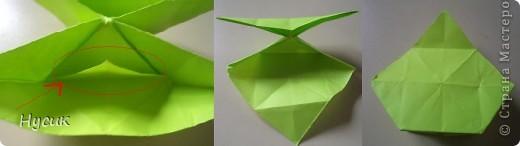 Не так давно я вела кружок оригами в загородном лагере. И на презентацию кружка всегда рассказывала эту сказку. Она тоже очень давняя. Побродив по Стране мастеров, нашла еще два варианта  https://stranamasterov.ru/node/19044?c=favorite https://stranamasterov.ru/node/302273?c=favorite  Но все же решила выложить и свою с целью дополнить уже имеющиеся, так как переходы от одной фигуры к другой  в разных вариантах разные. А вдруг и пригодиться кому. фото 13