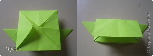 Не так давно я вела кружок оригами в загородном лагере. И на презентацию кружка всегда рассказывала эту сказку. Она тоже очень давняя. Побродив по Стране мастеров, нашла еще два варианта  http://stranamasterov.ru/node/19044?c=favorite http://stranamasterov.ru/node/302273?c=favorite  Но все же решила выложить и свою с целью дополнить уже имеющиеся, так как переходы от одной фигуры к другой  в разных вариантах разные. А вдруг и пригодиться кому. фото 14