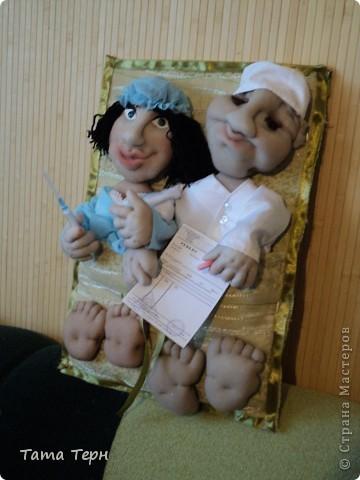 Идею этой жутко сексапильной дамы подсмотрела у Елены Аржановой, за что ей большое спасибо. Перед дарением сделала ей зубки, получилось интересней. фото 4