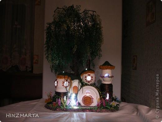 Сказочный домик помогал создавать мой муж. фото 3