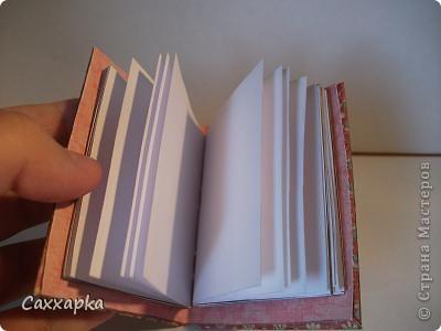 Вот такая книженция получилась. С пустыми страничками. Конечно же без грехов не обошлось. В общем мне она нравится, но всё таки ожидала лучшего. фото 3