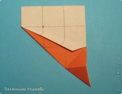 Мегаполис (Megapolis)  автор: Валентина Минаева (Valentina Minayeva)  соотношение бумаги 4 : 3  для бумаги с двусторонним эффектом  Для данной кусудамы брала размер бумаги 8,0 х 6,0 см  модули несимметричные, 60 штук  итог - 13 см  без клея  в основе кусудамы лежит многогранник икосододекаэдр Видео: http://www.youtube.com/watch?v=e7ELf8QSkuA&feature=youtu.be  фото 14