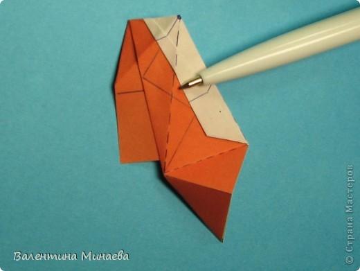 Мегаполис (Megapolis)  автор: Валентина Минаева (Valentina Minayeva)  соотношение бумаги 4 : 3  для бумаги с двусторонним эффектом  Для данной кусудамы брала размер бумаги 8,0 х 6,0 см  модули несимметричные, 60 штук  итог - 13 см  без клея  в основе кусудамы лежит многогранник икосододекаэдр Видео: http://www.youtube.com/watch?v=e7ELf8QSkuA&feature=youtu.be  фото 19