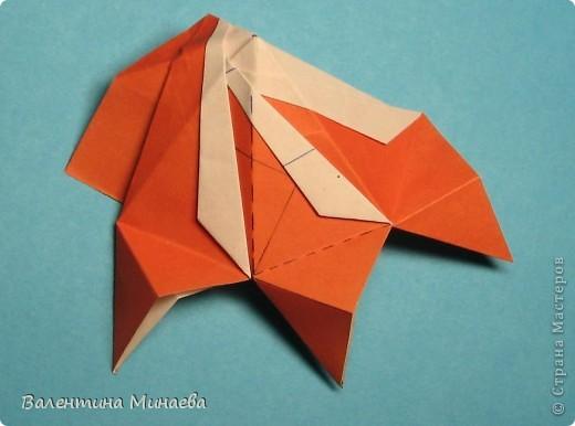Мегаполис (Megapolis)  автор: Валентина Минаева (Valentina Minayeva)  соотношение бумаги 4 : 3  для бумаги с двусторонним эффектом  Для данной кусудамы брала размер бумаги 8,0 х 6,0 см  модули несимметричные, 60 штук  итог - 13 см  без клея  в основе кусудамы лежит многогранник икосододекаэдр Видео: http://www.youtube.com/watch?v=e7ELf8QSkuA&feature=youtu.be  фото 24
