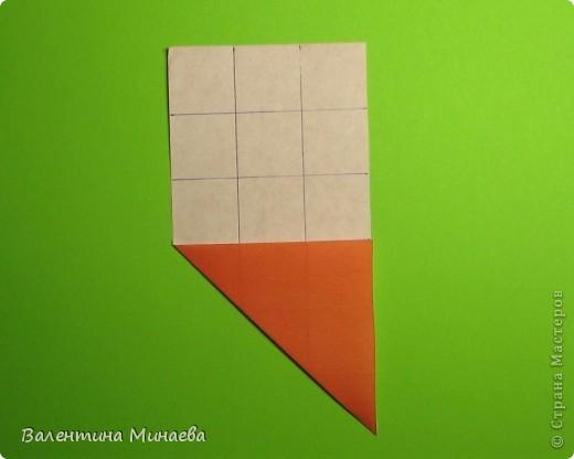 Горная фиалка (Mountain violet) автор: Валентина Минаева (Valentina Minayeva) соотношение бумаги 1:2 для бумаги с двусторонним эффектом Для данной кусудамы брала размер бумаги 11,0 х 5,5 см модули несимметричные, 60 штук итог - 12 см без клея в основе кусудамы лежит многогранник икосаэдр  фото 6