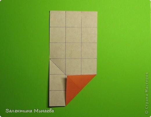 Горная фиалка (Mountain violet) автор: Валентина Минаева (Valentina Minayeva) соотношение бумаги 1:2 для бумаги с двусторонним эффектом Для данной кусудамы брала размер бумаги 11,0 х 5,5 см модули несимметричные, 60 штук итог - 12 см без клея в основе кусудамы лежит многогранник икосаэдр  фото 7