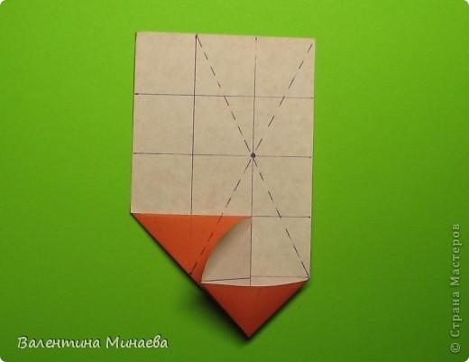 Горная фиалка (Mountain violet) автор: Валентина Минаева (Valentina Minayeva) соотношение бумаги 1:2 для бумаги с двусторонним эффектом Для данной кусудамы брала размер бумаги 11,0 х 5,5 см модули несимметричные, 60 штук итог - 12 см без клея в основе кусудамы лежит многогранник икосаэдр  фото 12