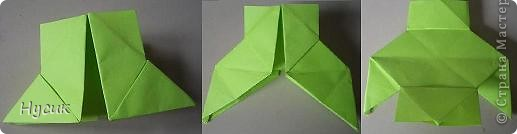 Не так давно я вела кружок оригами в загородном лагере. И на презентацию кружка всегда рассказывала эту сказку. Она тоже очень давняя. Побродив по Стране мастеров, нашла еще два варианта  https://stranamasterov.ru/node/19044?c=favorite https://stranamasterov.ru/node/302273?c=favorite  Но все же решила выложить и свою с целью дополнить уже имеющиеся, так как переходы от одной фигуры к другой  в разных вариантах разные. А вдруг и пригодиться кому. фото 6