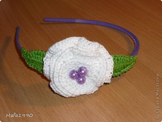"""""""Белый цветок"""" фото 1"""