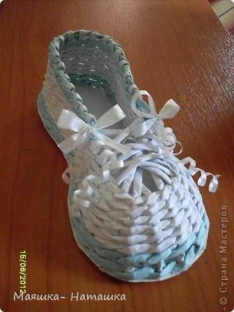 Прогулявшись по СМ я увидела что многие делают прелестнейшие башмачки... А я сделала - сандалий.  фото 3