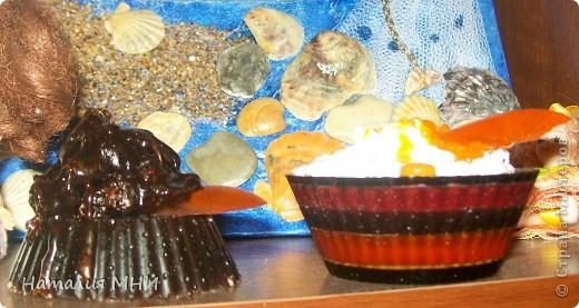 Вот мои вкусные мыльцы))))Старалась))))Запах кофе, корицы и бергамота... фото 1
