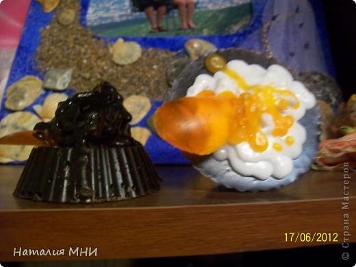 Вот мои вкусные мыльцы))))Старалась))))Запах кофе, корицы и бергамота... фото 2