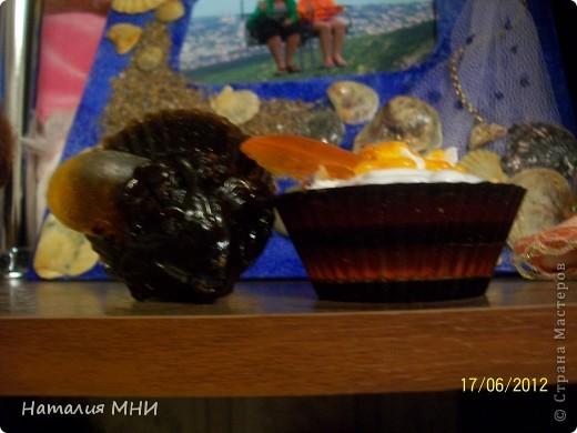 Вот мои вкусные мыльцы))))Старалась))))Запах кофе, корицы и бергамота... фото 3